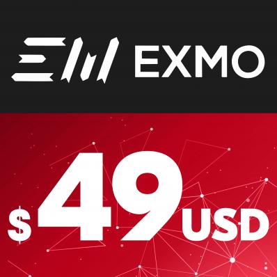 EXMO E-VOUCHER USD 49$