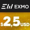 EXMO E-VOUCHER USD 2,5$