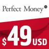 Perfect Money E-VOUCHER USD 14$