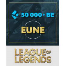 Konto League of Legends EUNE 50k+ BE UNRANKED
